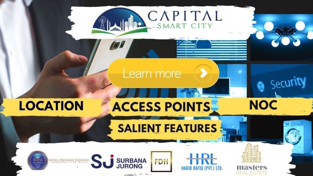 capital smart city location | access point | noc | features