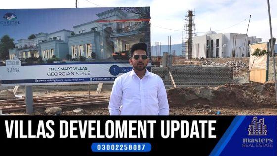 Development update of Capital Smart City Villas